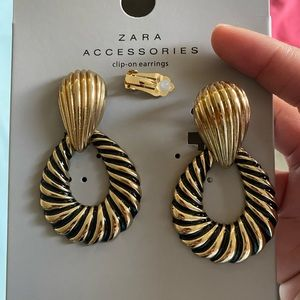 Zara Clip on Earrings